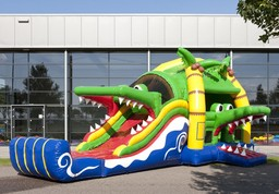 Crocodile Bouncy Castle for Hire