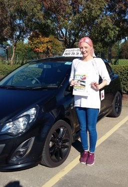 gemma passes at middlesbrough 1st attempt. well done gemma