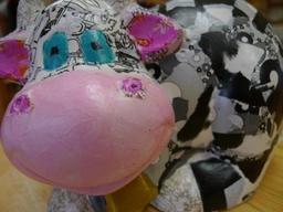 Decopatch Cow