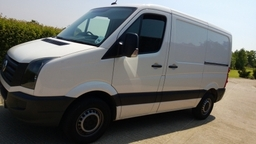 Mobile Remaps can remap commercial vans such as this VW Crafter