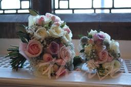 Wedding flowers Hengrave Hall