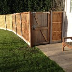 Fence installed in Peterborough