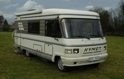 Mercedes Hymer S580 motorhome hire