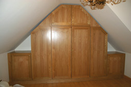 Oak Wardrobe in Thatched Roof Cottage