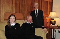 3 Generations - Rebecca, Mark and Michael Hillier