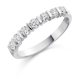 Contemporary diamond wedding rings, Nicholsons