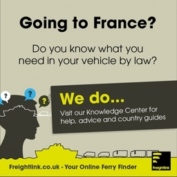 Freight ferries to France | Book online, open an account, compare ferry prices