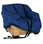 We ensure Sofas and Chairs are well protected with our padded Covers