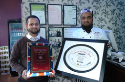 Four times Award-winning chef