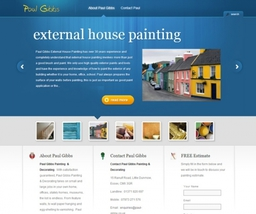 Wordpress Design for Painter and Decorator