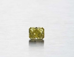 Natural intence yellow  GIA certified diamond