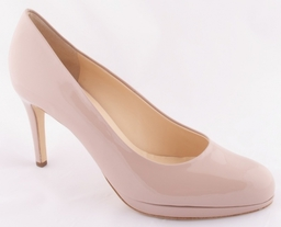 Essential patent nude heels from Hogl
