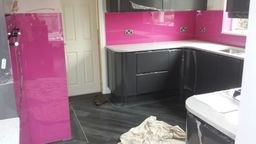 splashbacks - supplied & installed