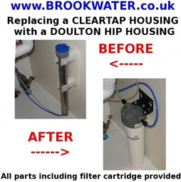 Cleartap To Doulton Replacement Housing And Cartridge