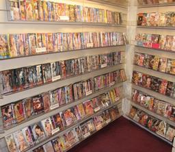 large dvd selecsion