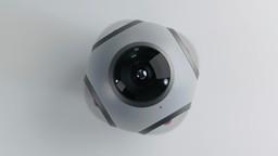 360 degree camera concept render.