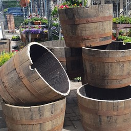 Oak Tubs from Whisky Casks