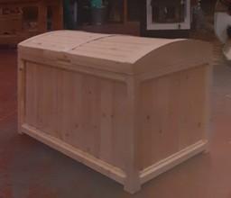 Bespoke Wooden chest